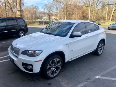 2010 BMW X6 xDrive50i (White)