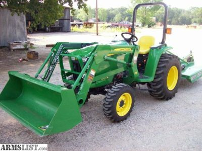 For Sale: Low Hrs John Deere tractor with mower and loader