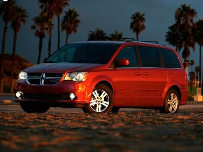 2012 Dodge Grand Caravan SXT (Bright Silver Metallic Clearcoat)