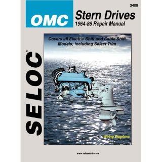 Purchase Seloc Service Manual - OMC Stern Drive - 1964-86 -3400 motorcycle in Phoenix, Arizona, United States, for US $37.81