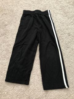 EUC black cotton pants sz 4T