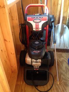 Honda 3000 psi power washer