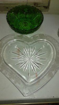 Heart platter