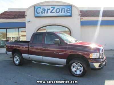 2003 Dodge Ram 1500 4WD- Red- 102K