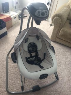Graco swing and bouncer