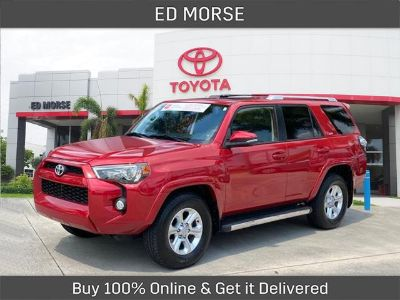 2015 Toyota 4Runner Limited (Barcelona Red Metallic)