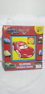 Disney's cars puzzle and story book