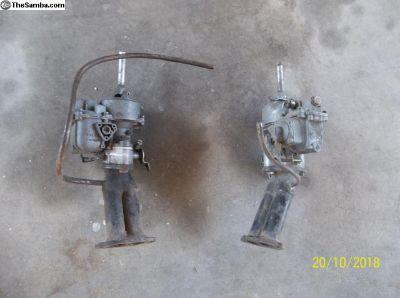 Kadron Solex H40/44EIS Dual Carbs