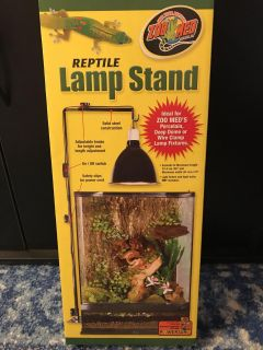 Reptile Lamp Stand