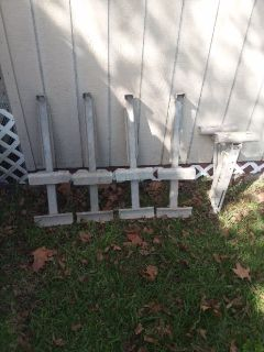 Aluminum ladder jacks, 3 left 25.00 each