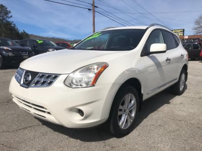 2013 Nissan Rogue S (White)