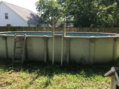 Trade 16 32 above ground pool for yardwork
