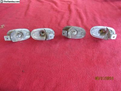 58-63 bug turn signal light bulb holders