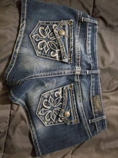 $20 size 11 miss me Jean shorts worn once excellent condition fcfs