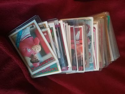 Cardinals cards ranging from 70's to 2000's a couple 60's