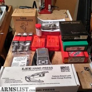 For Sale/Trade: Reloading gear clean-out