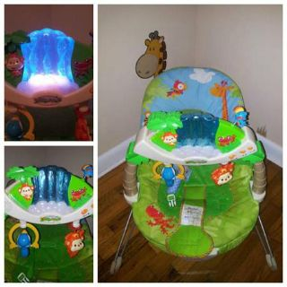 Fisherprice Safari Light-up Bouncy