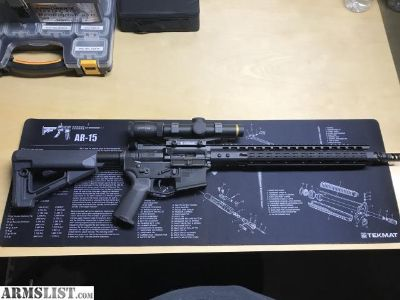 For Sale: Northtech Defense 16 AR15 Rifle