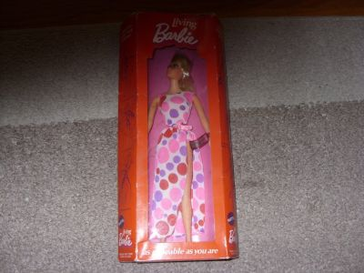 1970 Dramatic living barbie doll