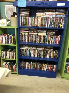 Large selection DVDs
