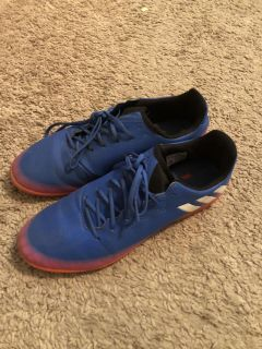 Adidas indoor soccer shoes-$40