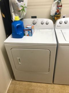 Washer and dryer for sale, 100 a piece