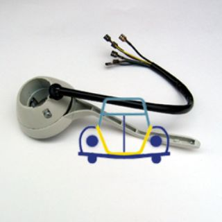 Turn Signal Switch - Beetle 60/61 - 6 Wire