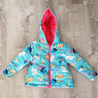 2t/3t Toddler Lightweight Reversible Puffer Jacket - New w/o Tag - Porch Pickup