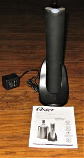 OSTER Electric Wine Opener - Used Once - IncludesManual & Charging Adaptor