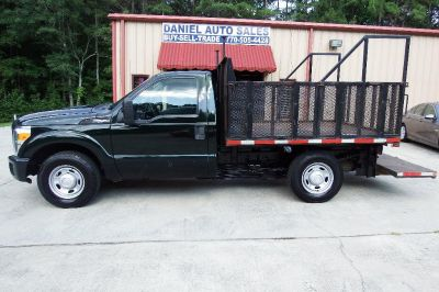 2014 Ford F250SD FLATBED XL (GREEN)