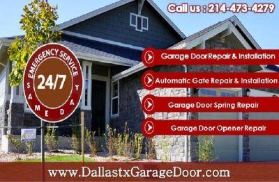 Need Garage Door Opener Repair Service in Dallas   Call us now (214) 473-4279