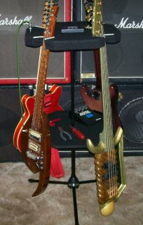 Guitar Stand holds 4 guitars or basses & Spins