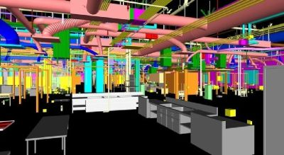 Building Information Modeling Services at Indiana - Point Cloud, BIM Clash Detection
