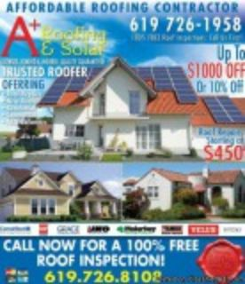 A Plus Roofing and Solar