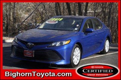 2018 Toyota Camry L (blue)