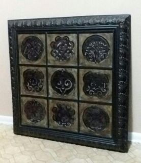 (HUGE) METAL WALL DECOR.....NEW CONDITION