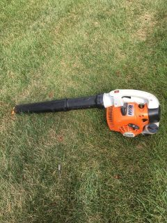 NEW STYLE STIHL BG56C GAS BLOWER IN VERY GOOD CONDITION READY TO WORK!!