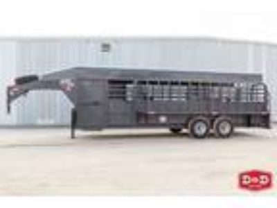 2019 Big Bend Trailers 24 Ft Stock Combo Trailer