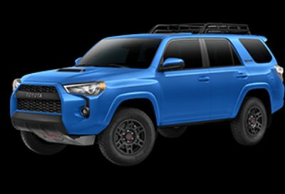 2019 Toyota 4Runner SR5 (Voodoo Blue)