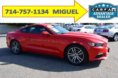 2016 FORD MUSTANG ECOBOOST COUPE 2D  (714-757-1134)