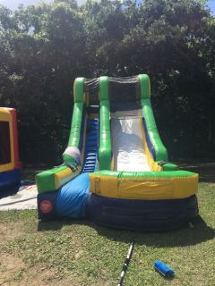 Water slides for rent and bounce houses