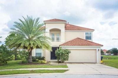 beautiful 2 story luxury home with heated pool water view