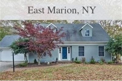 Beautiful East Marion House for rent. Washer/Dryer Hookups!
