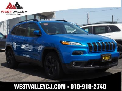 2018 Jeep Cherokee Latitude (Blue Pearl)