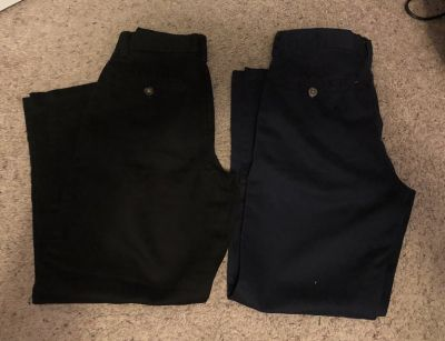 Youth Black and Navy Pants size 10