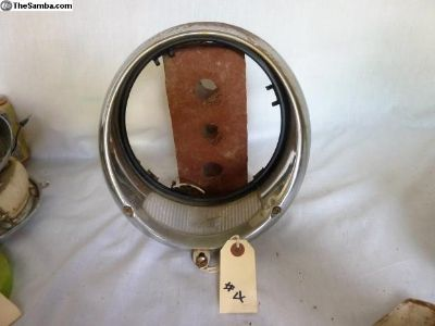 ROSSI headlight, metal rim