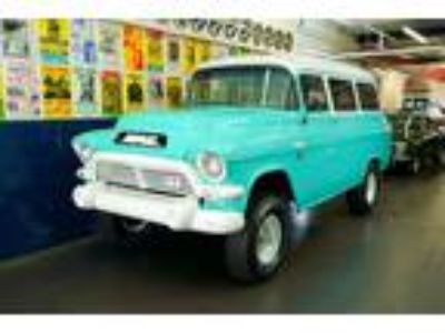 1957 GMC Suburban VERY RARE 4-Speed