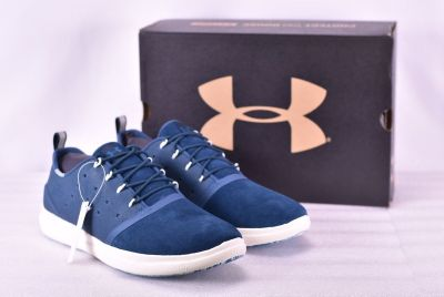 NEW w Box $75 Women's Under Armour 1298064400 Charged 24/7 Low Shoes True Ink 9.5 Womens