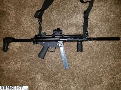 For Sale/Trade: Vector V5-40 MP5 Clone Rifle