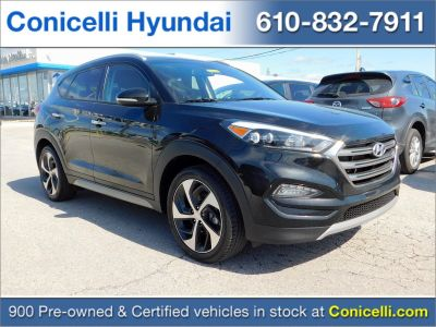 2017 Hyundai Tucson Limited (Black Noir Pearl)